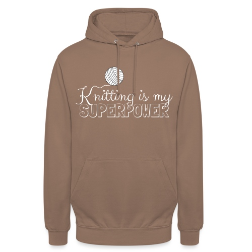 Knitting Is My Superpower - Unisex Hoodie