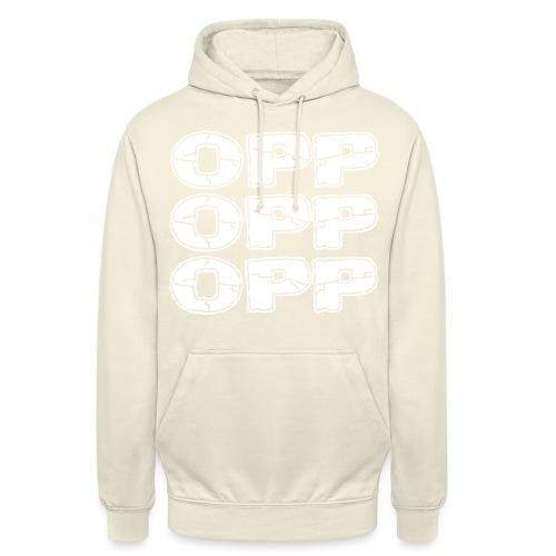 "OPP Logo White - Huppari ""unisex"""