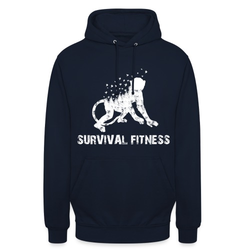 Survival Fitness Weiss - Unisex Hoodie