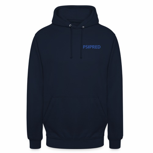 Logo in blue - Unisex Hoodie