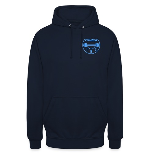 FiTrition Inc - Blue - Unisex Hoodie