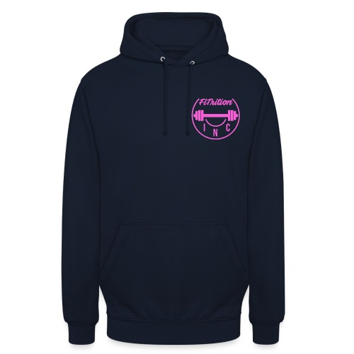 FiTrition Inc - Pink - Unisex Hoodie
