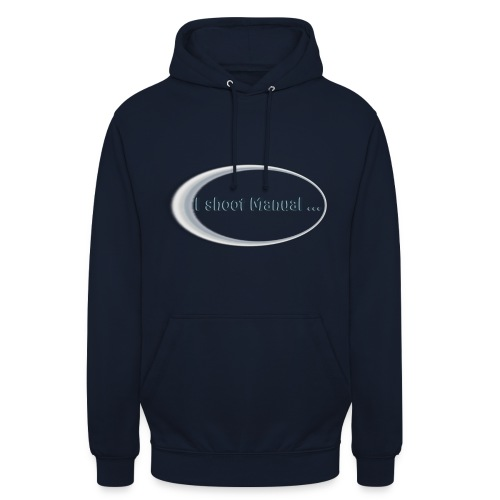 I shoot manual slogan - Unisex Hoodie