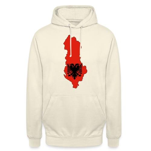 Albania - Sweat-shirt à capuche unisexe
