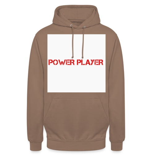 Linea power player - Felpa con cappuccio unisex