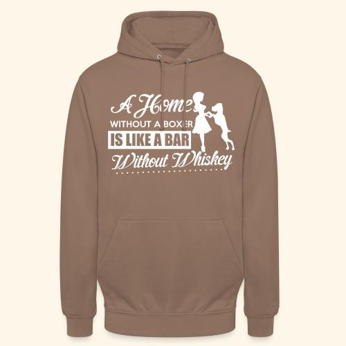 Boxer Hunde Liebhaber T-Shirt Englisch - Unisex Hoodie