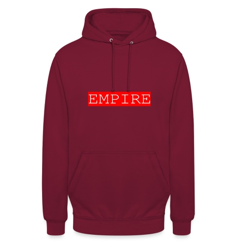EMPIRE - Felpa con cappuccio unisex