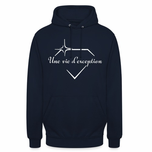 Une vie d'exception - Sweat-shirt à capuche unisexe
