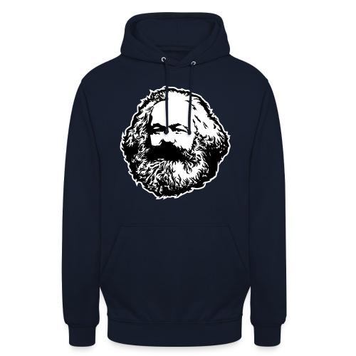 Karl Marx - Felpa con cappuccio unisex