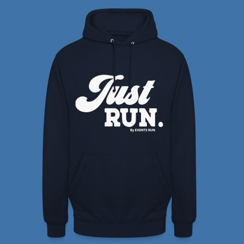just-run - Sweat-shirt à capuche unisexe