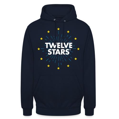 TWELVE STARS® EURO RETRO STARS - Unisex Hoodie