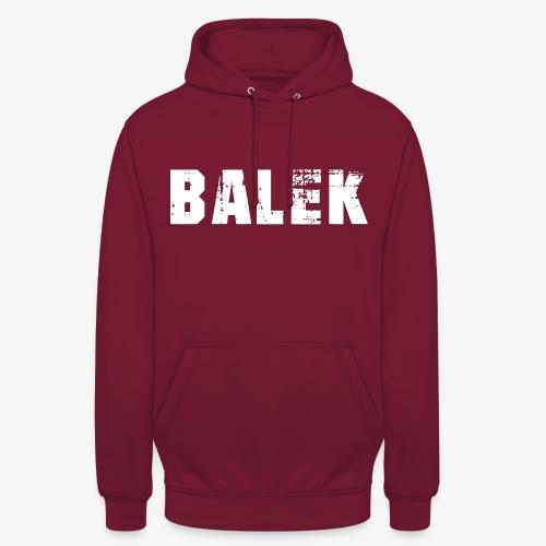 BALEK - Sweat-shirt à capuche unisexe