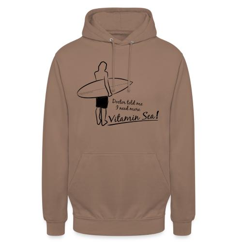 Surfer Vitamin Sea by Querverstand - Unisex Hoodie