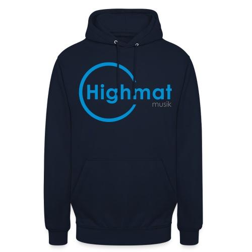Logo_Highmat 006 - orange - Unisex Hoodie