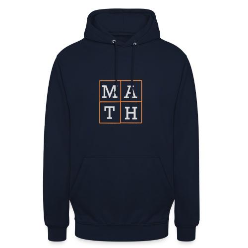 Math-Schriftzug - Unisex Hoodie