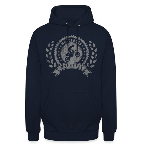 Motocross Retro Champion - Sweat-shirt à capuche unisexe