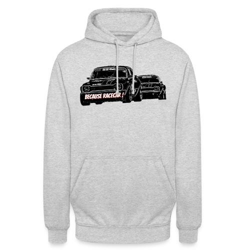 Racecar - Sweat-shirt à capuche unisexe