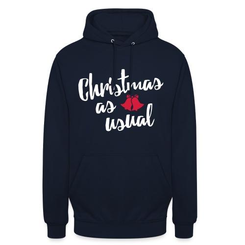 Christmas As Usual - Unisex Hoodie
