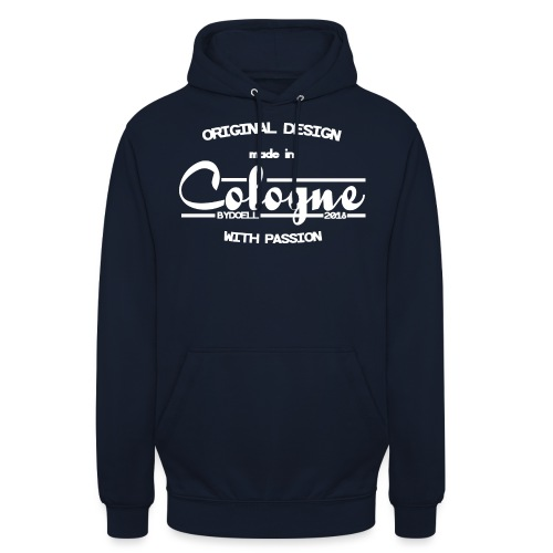 Cologne Original - Weiß - Unisex Hoodie