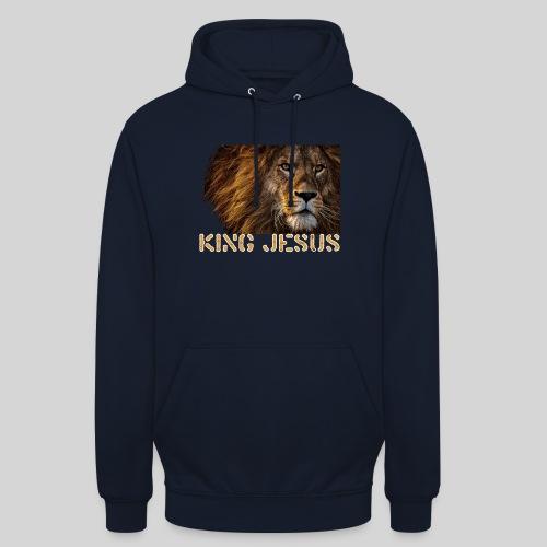 König Jesus der Löwe von Juda - Unisex Hoodie