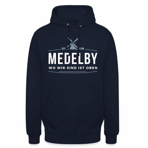 Medelby - Wo wir sind ist oben - Unisex Hoodie