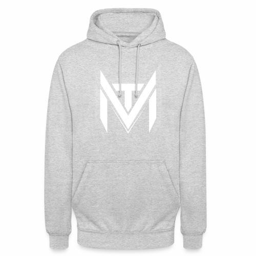 MadVexTV Logo Weiss - Unisex Hoodie