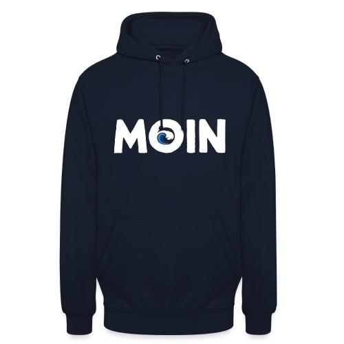 Moin Welle Ahoi Meer maritim Geschenk - Unisex Hoodie
