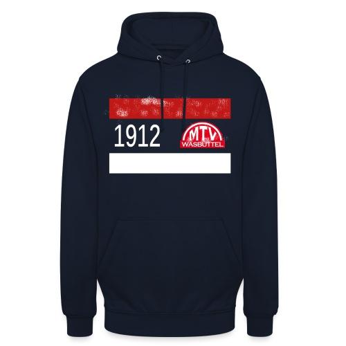 1912 MTV weiß - Unisex Hoodie