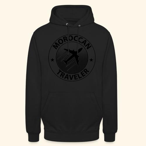Moroccan Traveler - Sweat-shirt à capuche unisexe