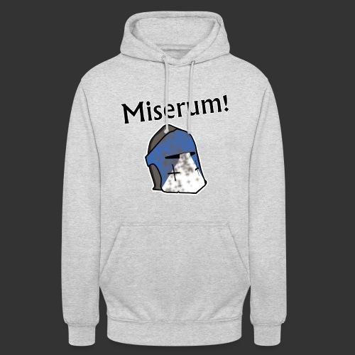 Warden Cytat Miserum! - Bluza z kapturem typu unisex