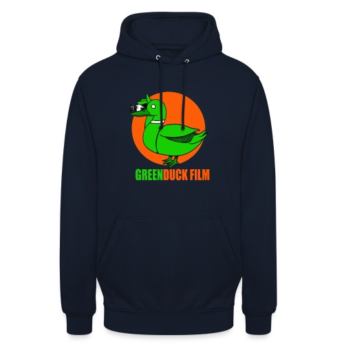 Greenduck Film Orange Sun Logo - Hættetrøje unisex