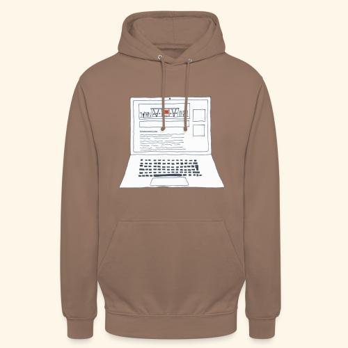 Laptop 20CENT Retail - Sweat-shirt à capuche unisexe