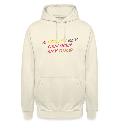 Say in English with 3D effect - Unisex Hoodie