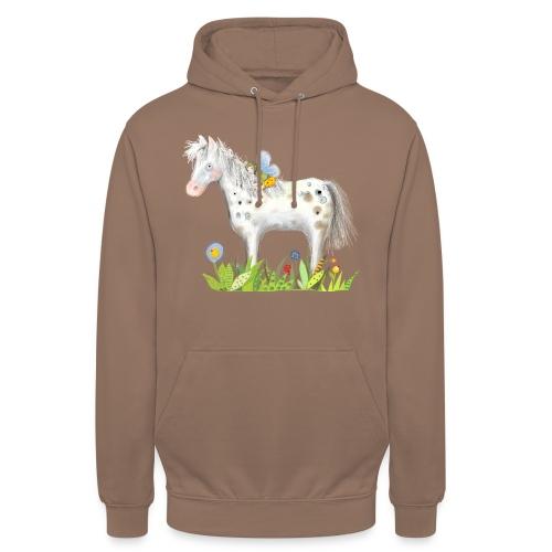 Fee. Das Pferd und die kleine Reiterin. - Unisex Hoodie