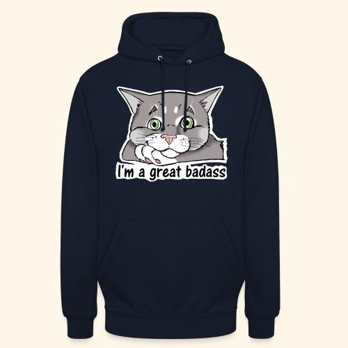 Nice Dogs CATS - Felpa con cappuccio unisex