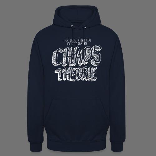 "Chaos Theory (valkoinen) - Huppari ""unisex"""