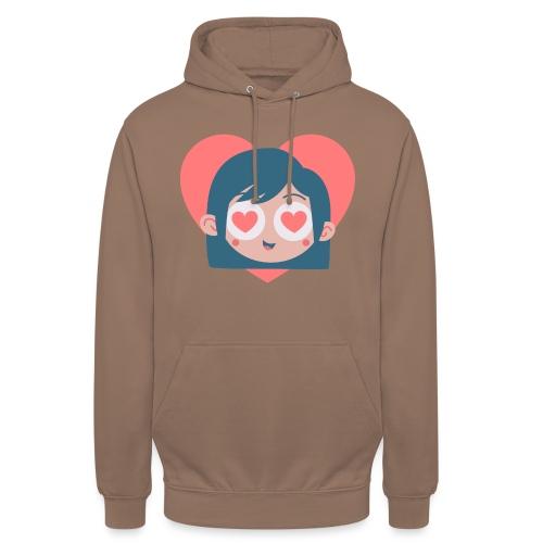 Gamine Amour - Sweat-shirt à capuche unisexe