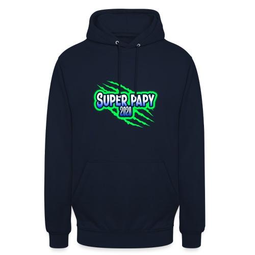 super papy 2020 - Sweat-shirt à capuche unisexe