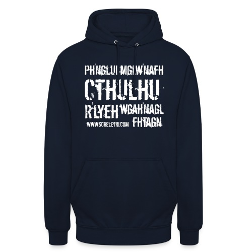 Cthulhu - Felpa con cappuccio unisex