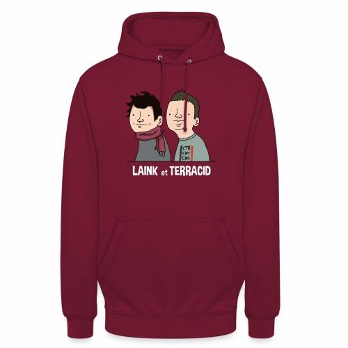 Laink et Terracid - Sweat-shirt à capuche unisexe