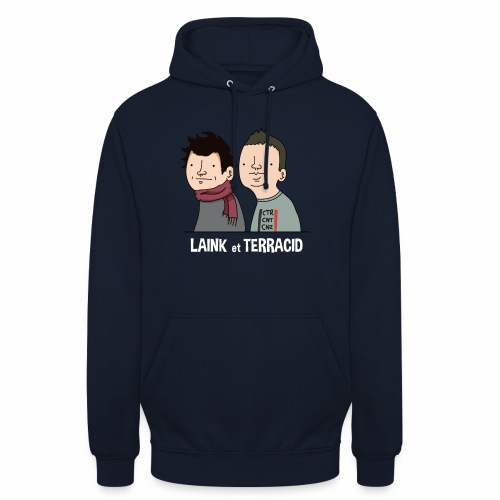 Laink et Terracid - Sweat-shirt à capuche unisexe
