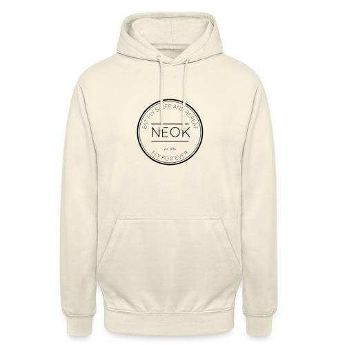 Neok EAT FLY SLEEP AND REPEAT - Sweat-shirt à capuche unisexe