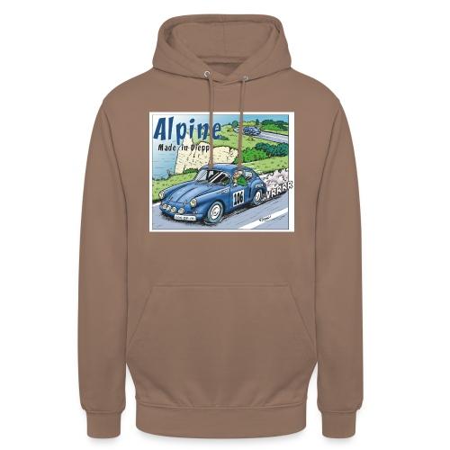 Polete en Alpine 106 - Sweat-shirt à capuche unisexe