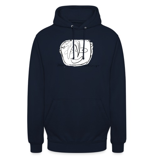 The Face Zoomed | Peter Eric Lang - Unisex Hoodie