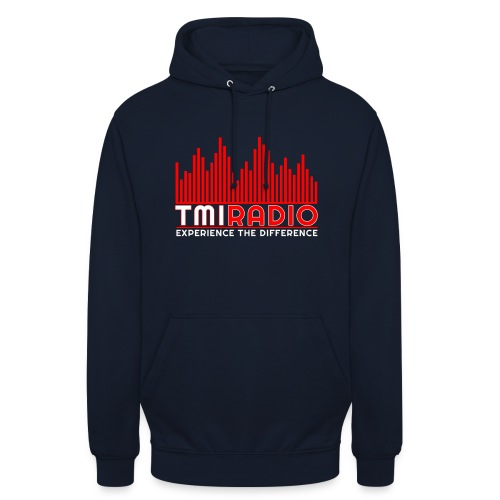 NEW TMI LOGO RED AND WHITE 2000 - Unisex Hoodie