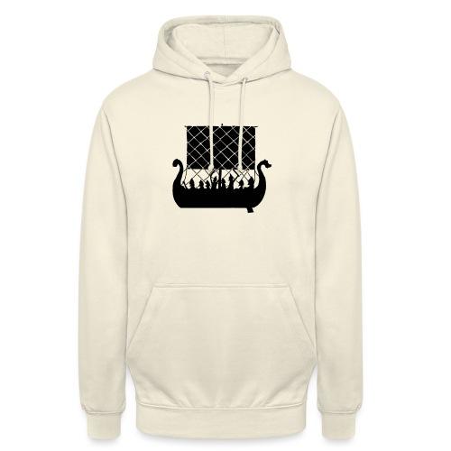 LongShip - Vikings - Sweat-shirt à capuche unisexe