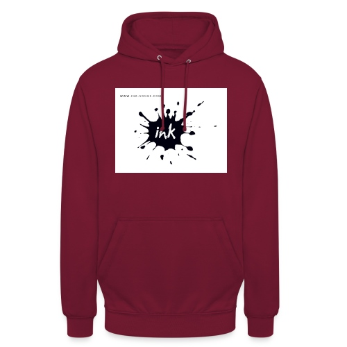 Ink Logo and website - Unisex Hoodie