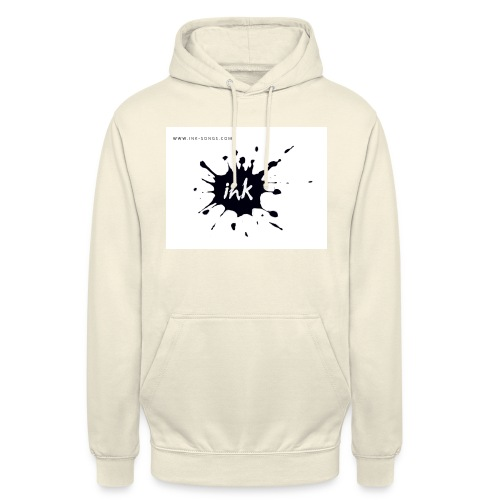 Ink Logo and website - Unisex Hoodie