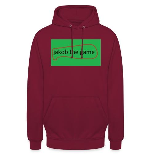 jakob the game - Hættetrøje unisex