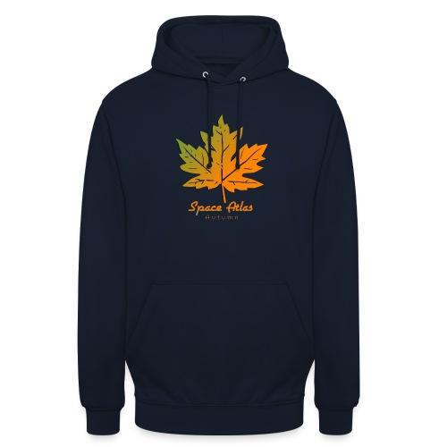 Space Atlas Long Sleeve T-shirt Autumn Leaves - Hættetrøje unisex